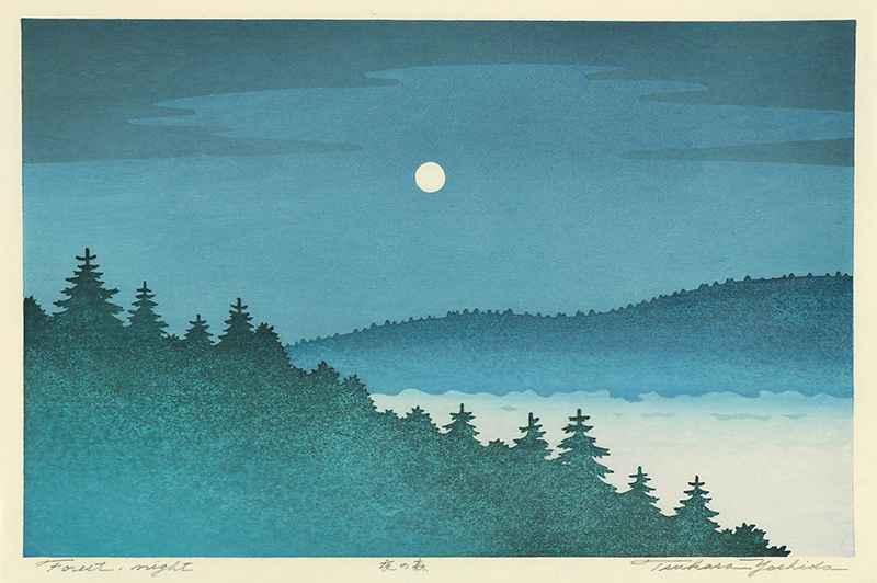 Forest Night by  Tsukasa Yoshida - Masterpiece Online