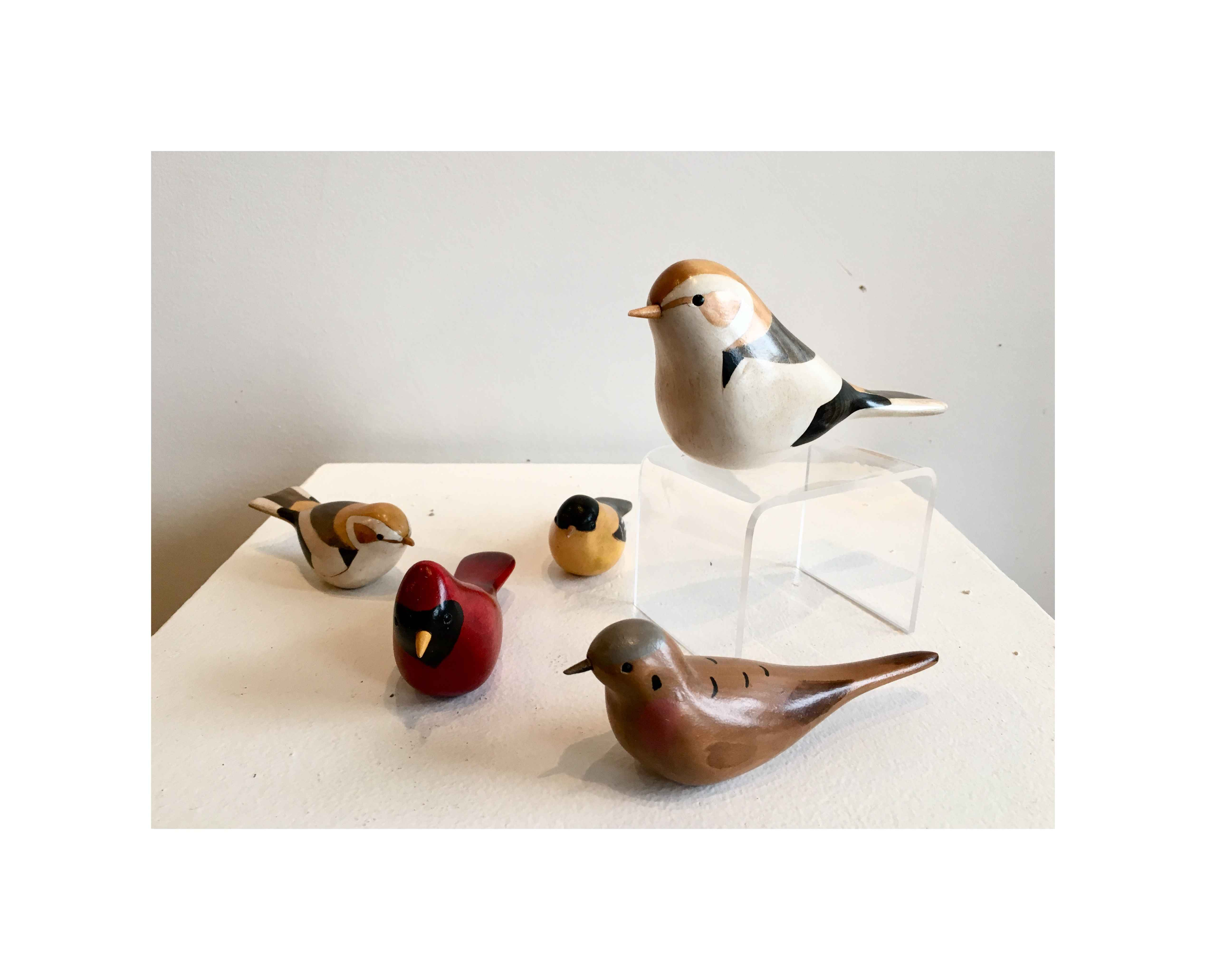 Small Birds (each) by  Jim Harkness - Masterpiece Online