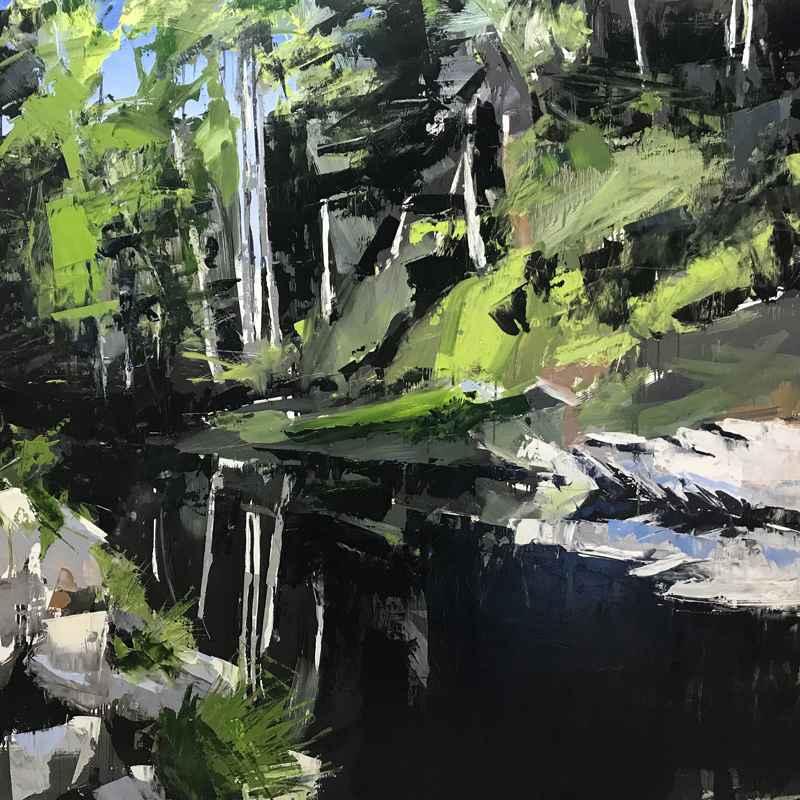 Mitchell River, Elkin... by  David Shingler - Masterpiece Online