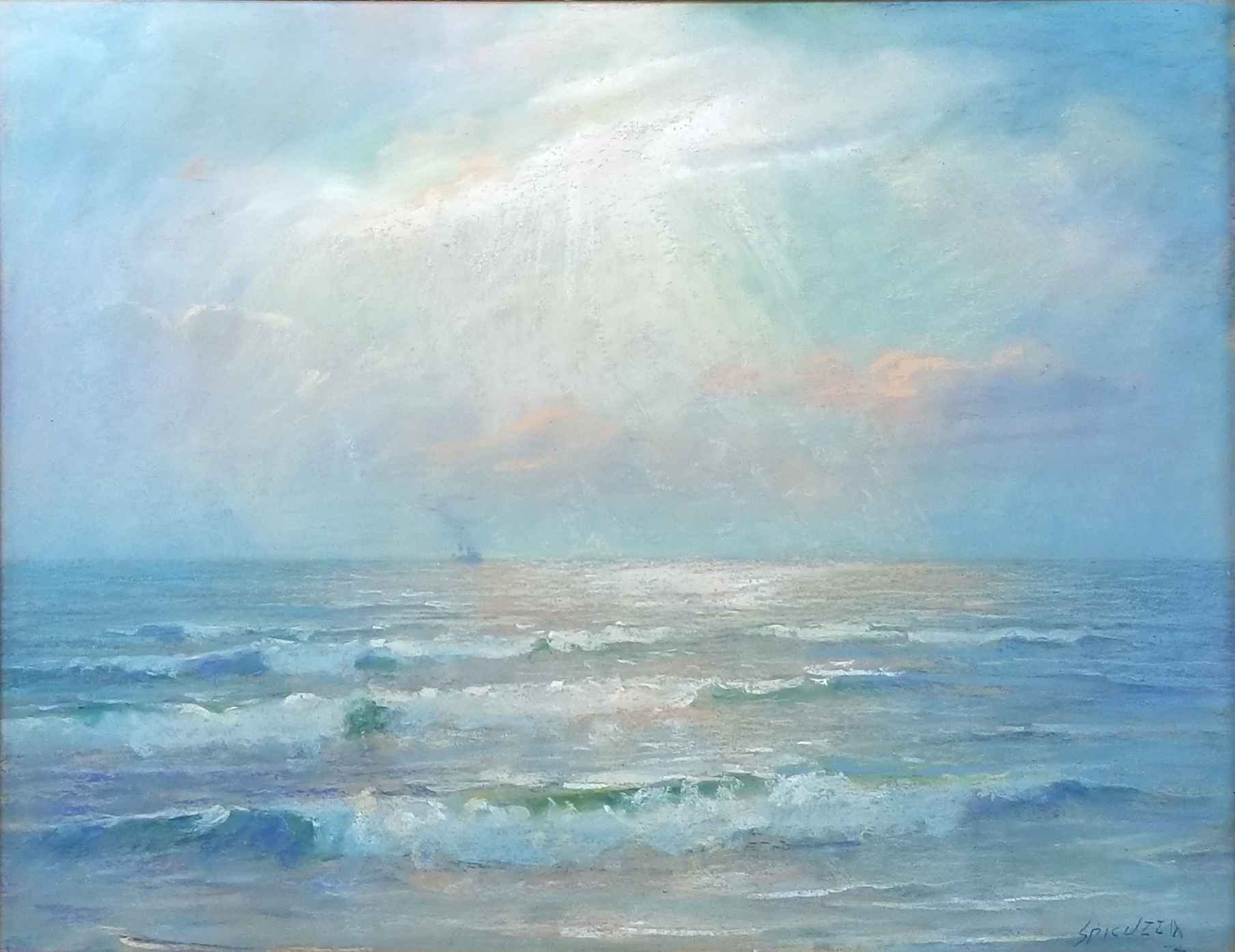 Untitled (Waves) by Mr. Francesco Spicuzza - Masterpiece Online