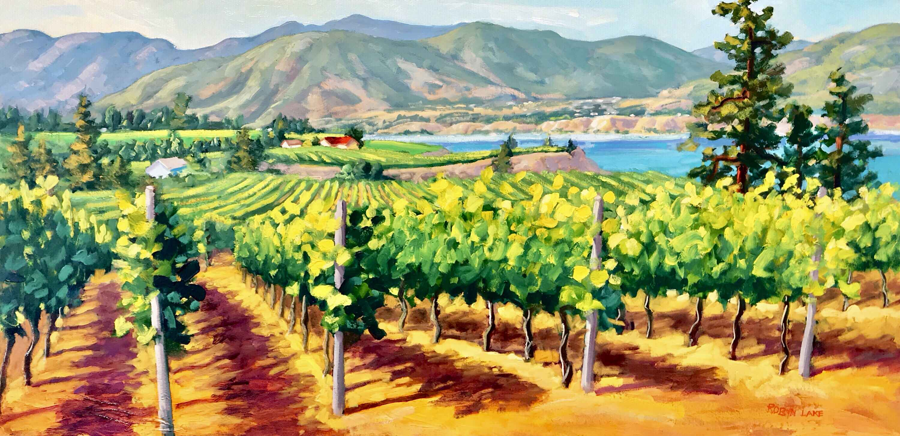 Summer Light by  Robyn Lake - Masterpiece Online