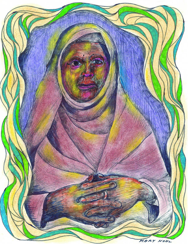 Untitled (Woman/Nun) by  Mary Nohl - Masterpiece Online