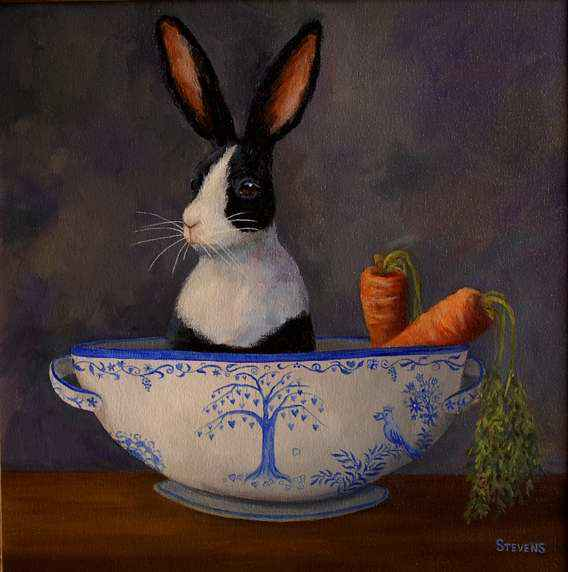 Hare in my Soup by Ms Sandra Stevens - Masterpiece Online