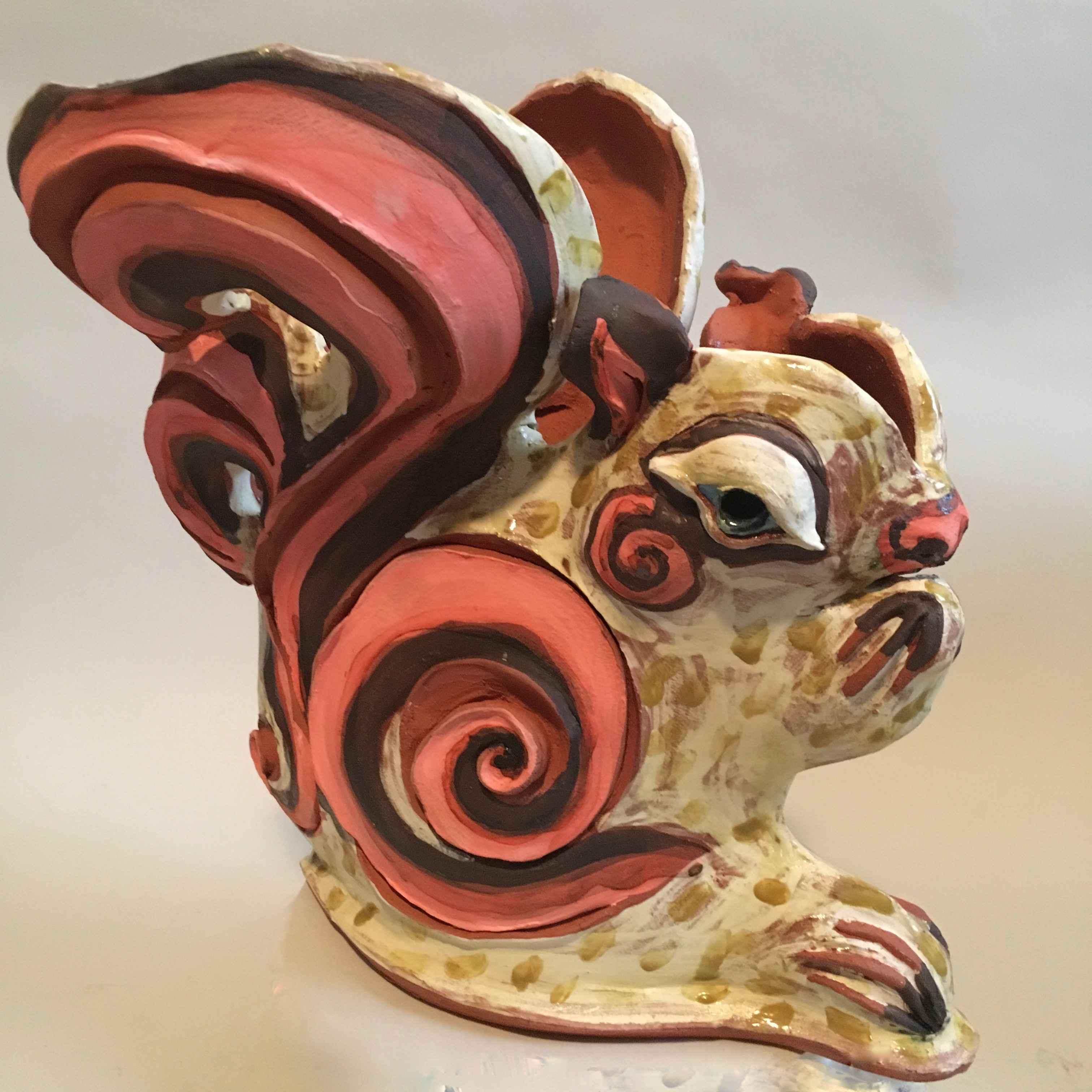 Squirrel by  Nancy Kramer Bovee - Masterpiece Online