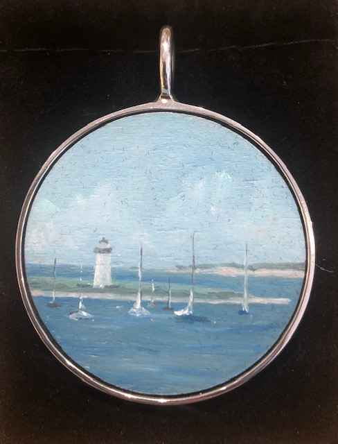 #282 Lg O Lighthouse/... by  Nell Mercier - Masterpiece Online