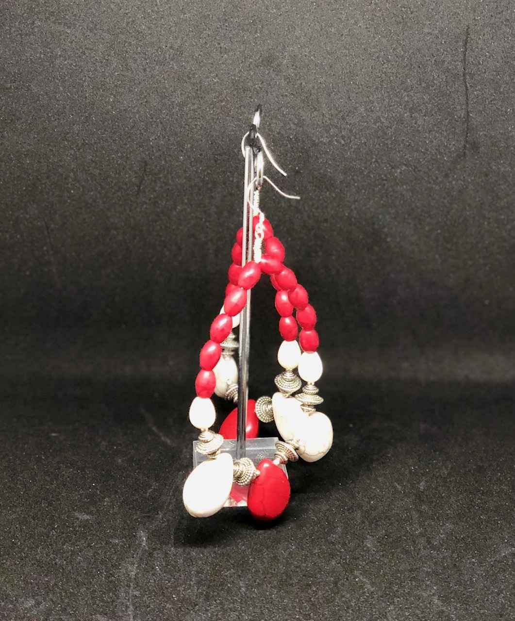Howlite and Coral by Mrs Larissa Hale - Masterpiece Online