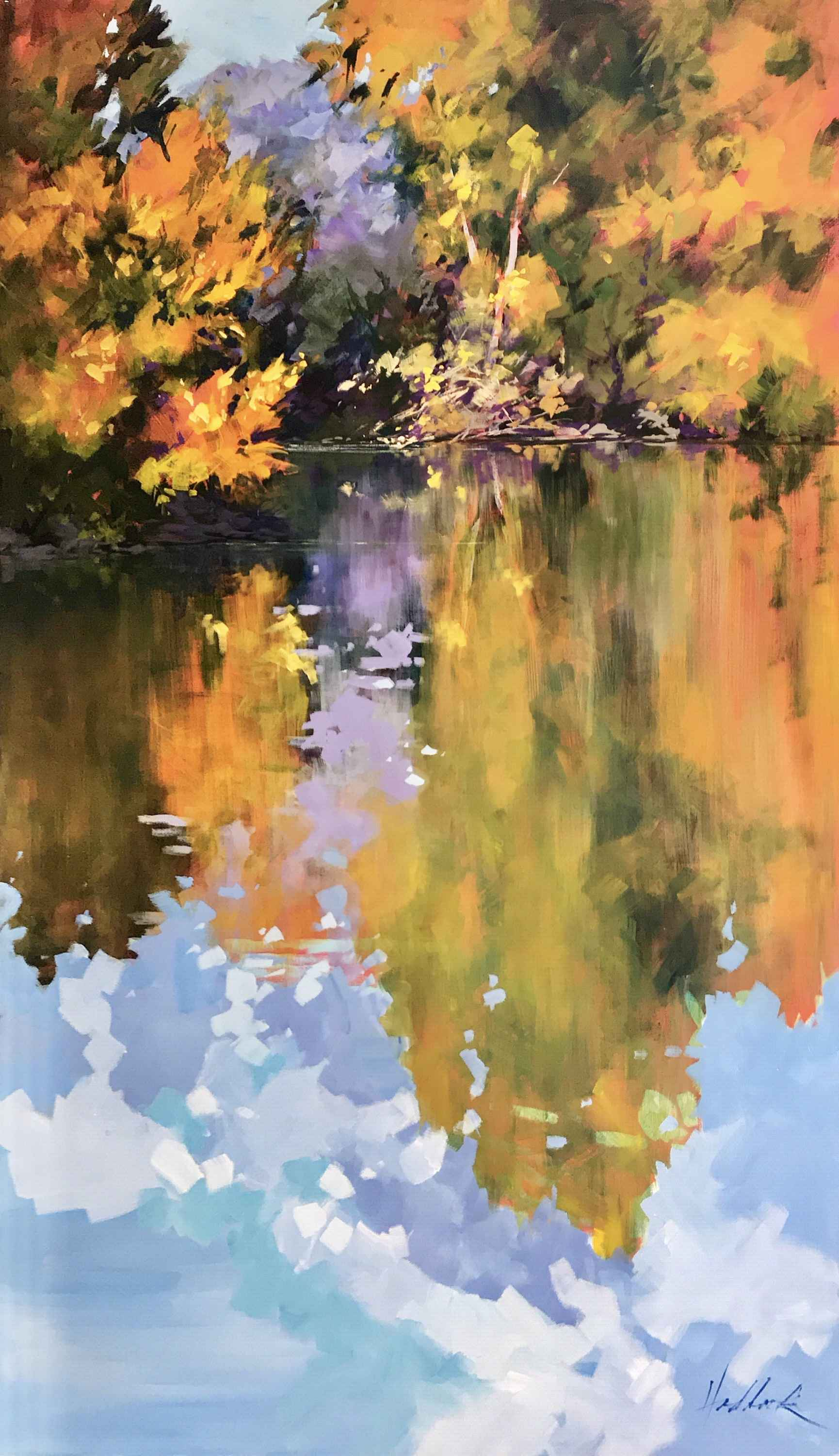 Autumn Reverie by  Perry Haddock - Masterpiece Online