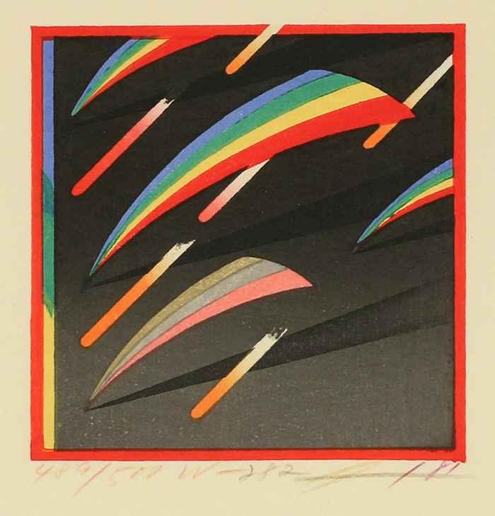 Bent Triangles by  Akira Kurosaki - Masterpiece Online