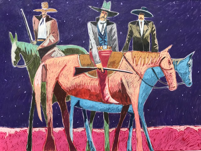 Manhunters by  Thom Ross - Masterpiece Online