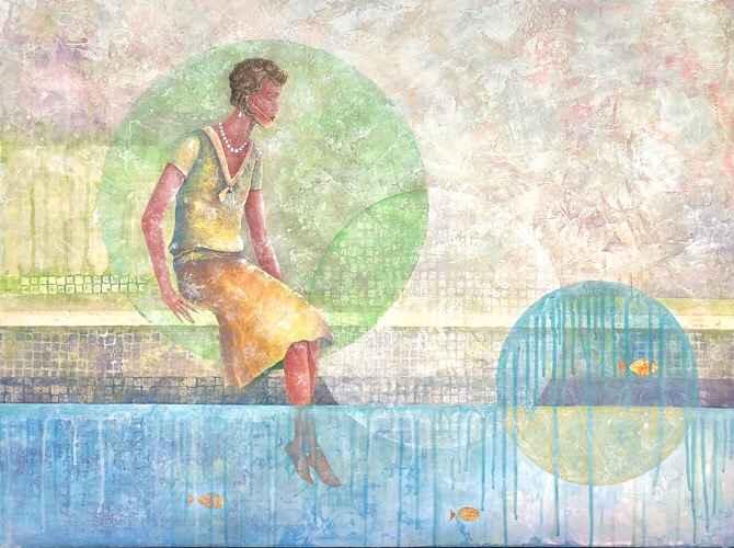 Circular Wade  by  Jules Williamson