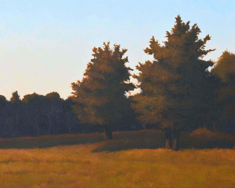 Autumn Cedars by  Jim Holland - Masterpiece Online