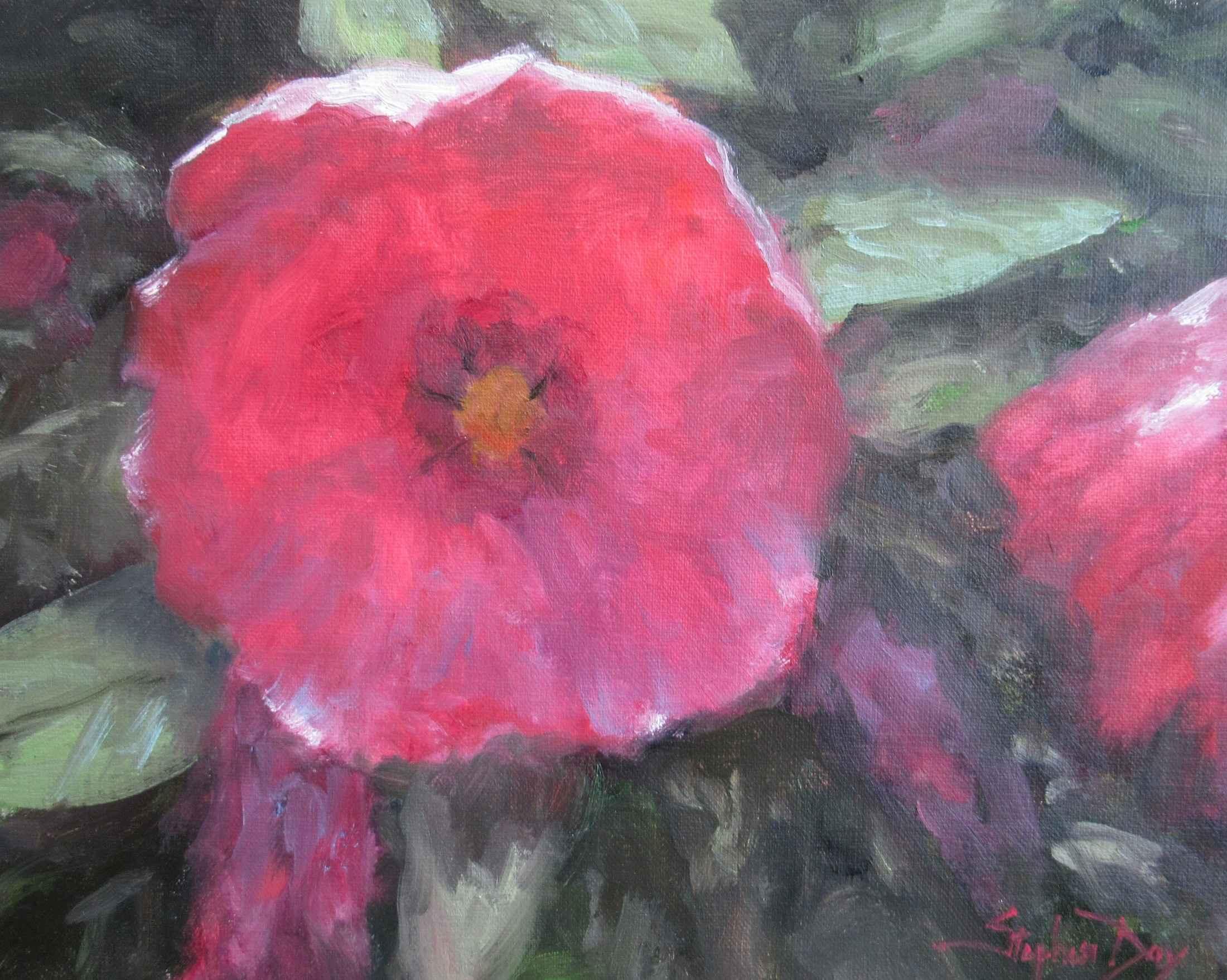 Hibiscus by  Stephen Day - Masterpiece Online