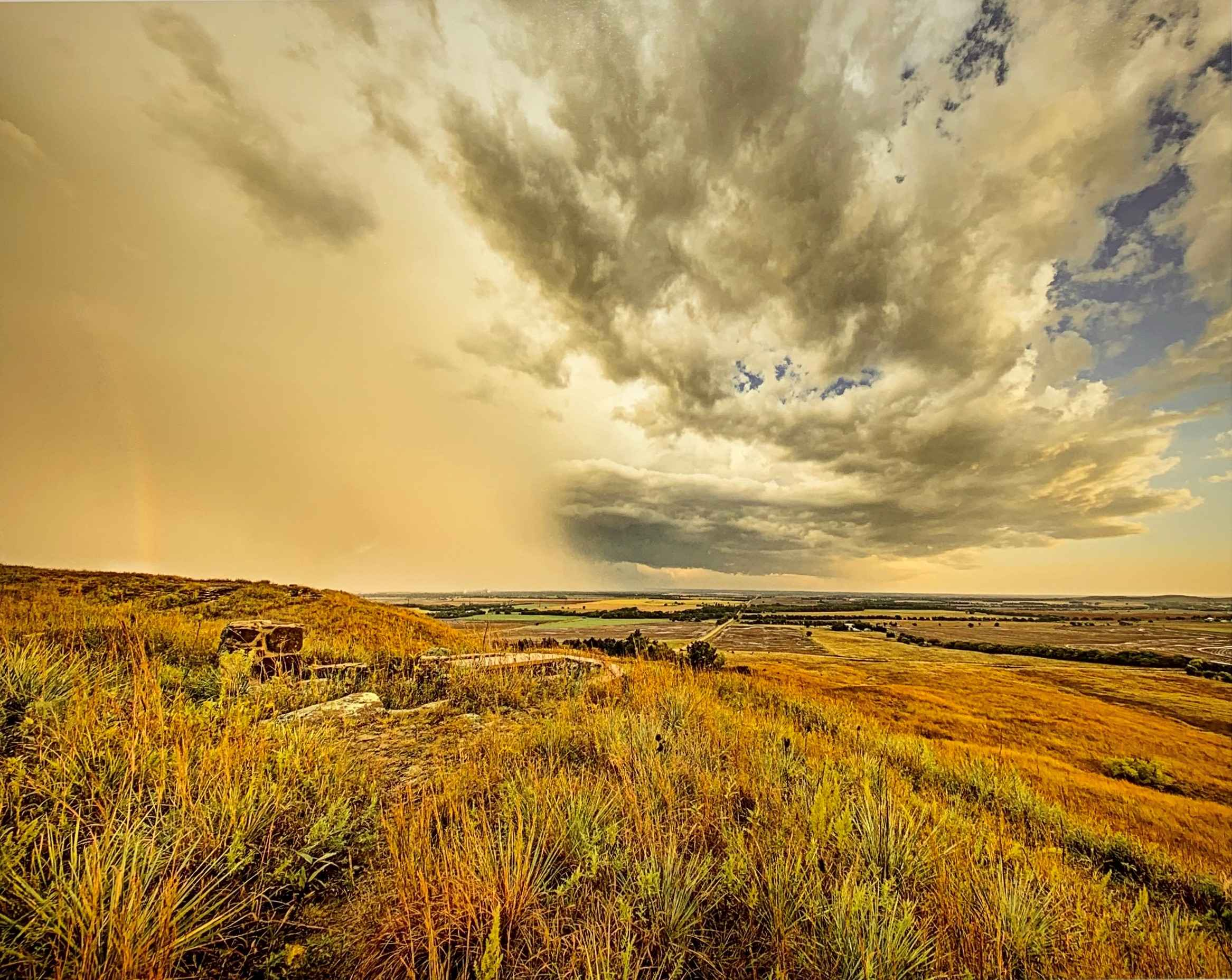 Storm and Rainbow by  George Jerkovich - Masterpiece Online