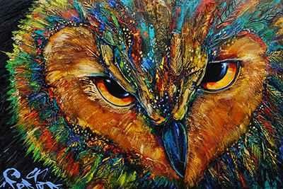 Owl 182528 by  Brian Porter - Masterpiece Online