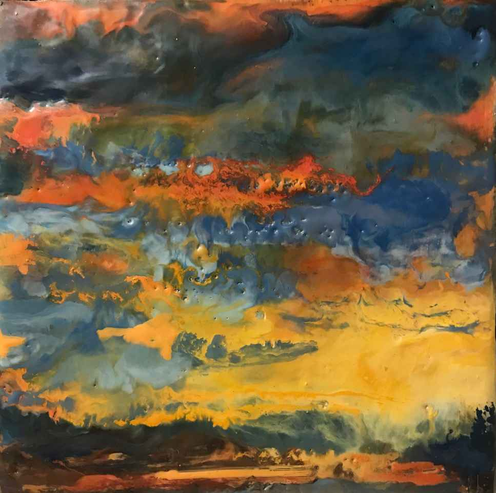 Little Sky #9 by  Kathy Bradshaw - Masterpiece Online