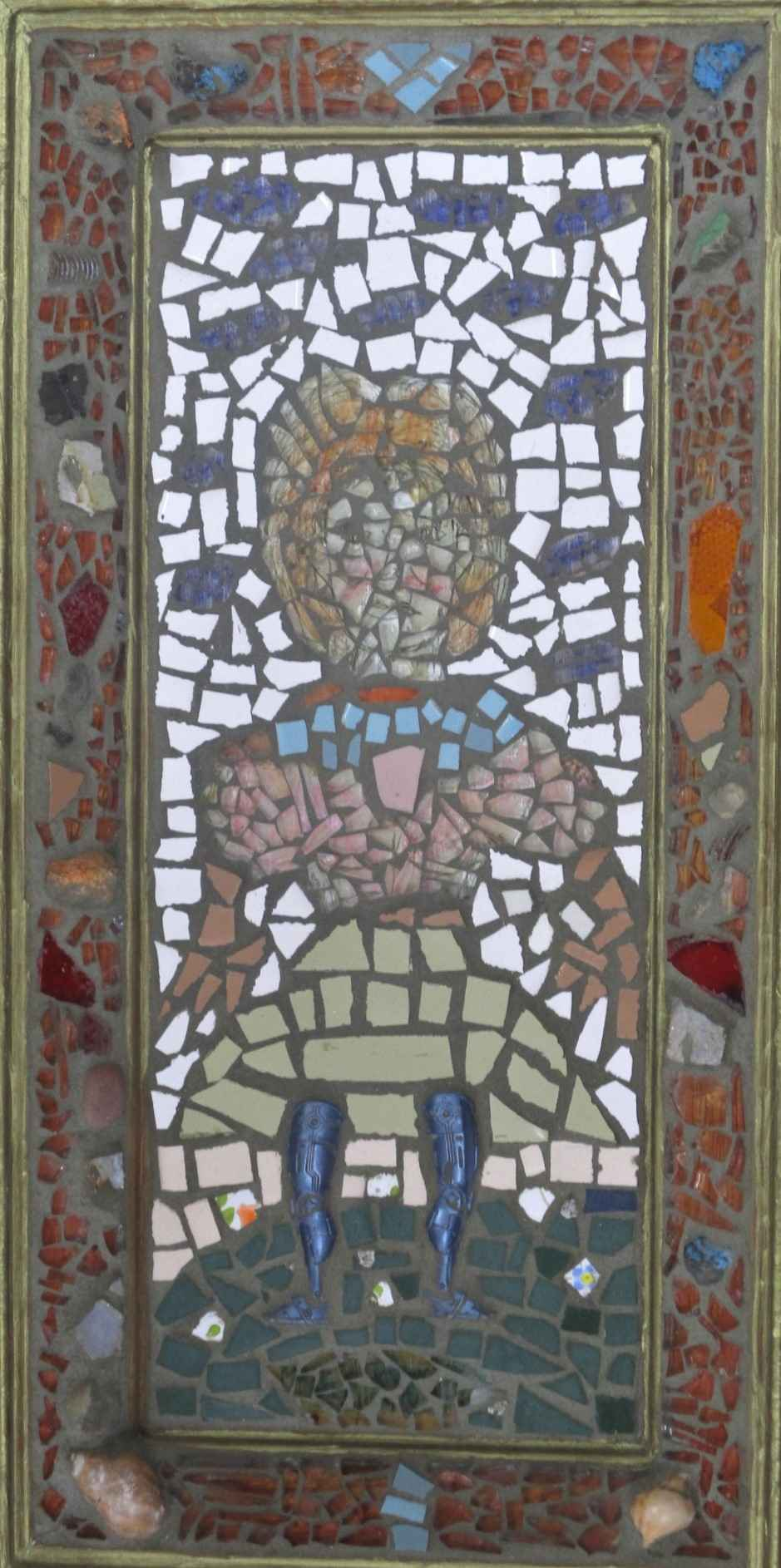Unknown (Mosaic Woman) by  Mary Topogna - Masterpiece Online
