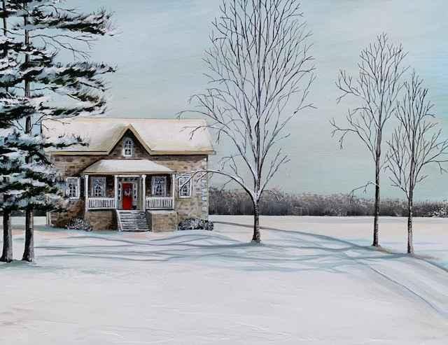 Snow Glow by  Janet Liesemer - Masterpiece Online