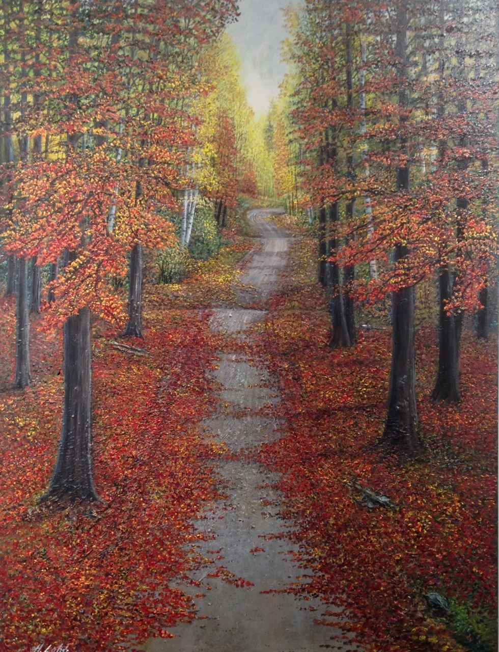 Road Into The Woods by  Henry Lobo - Masterpiece Online