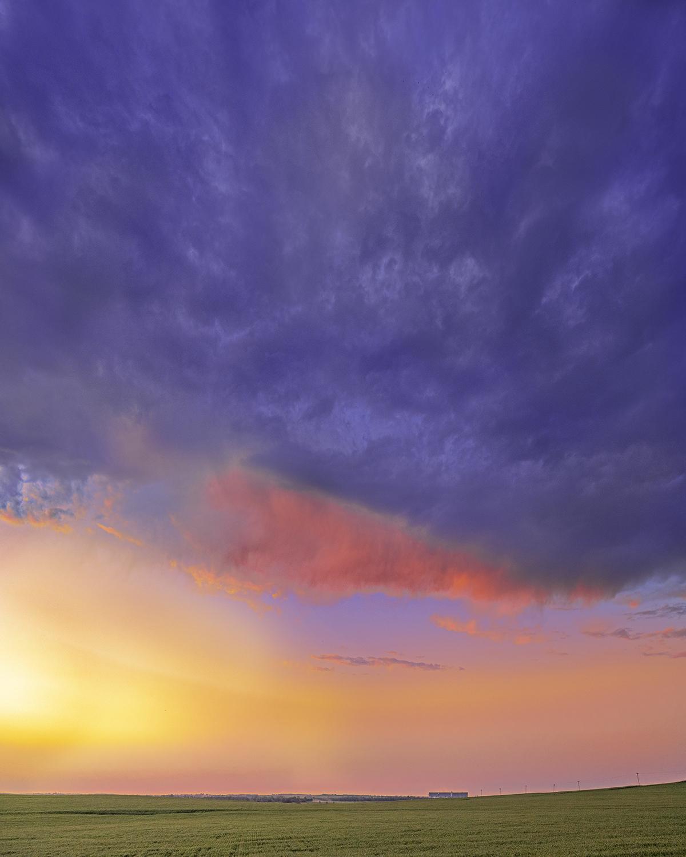 Wheat, Sky, Grain Ele... by  George Jerkovich - Masterpiece Online