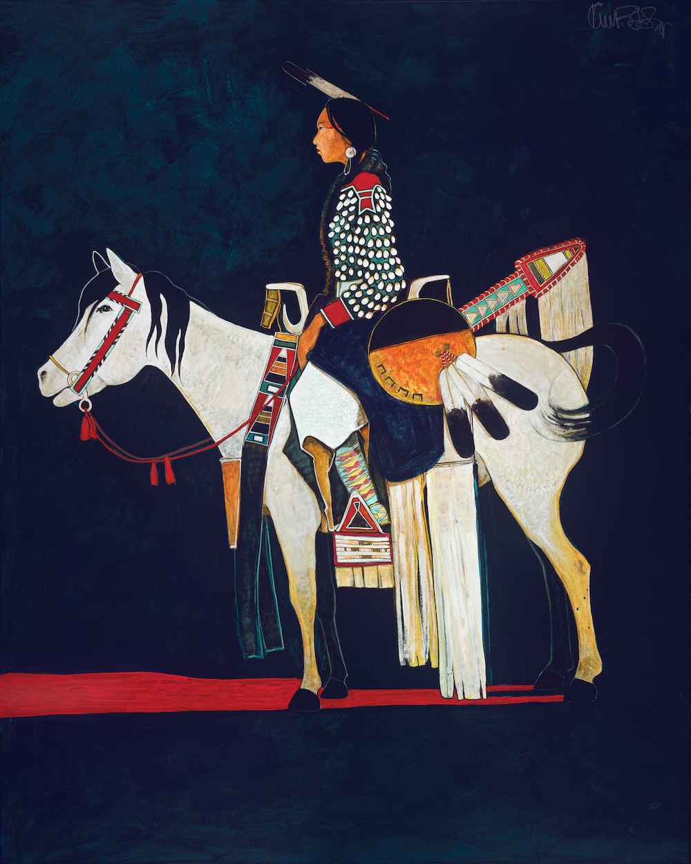 Young Parade Pony and... by  Kevin Red Star - Masterpiece Online