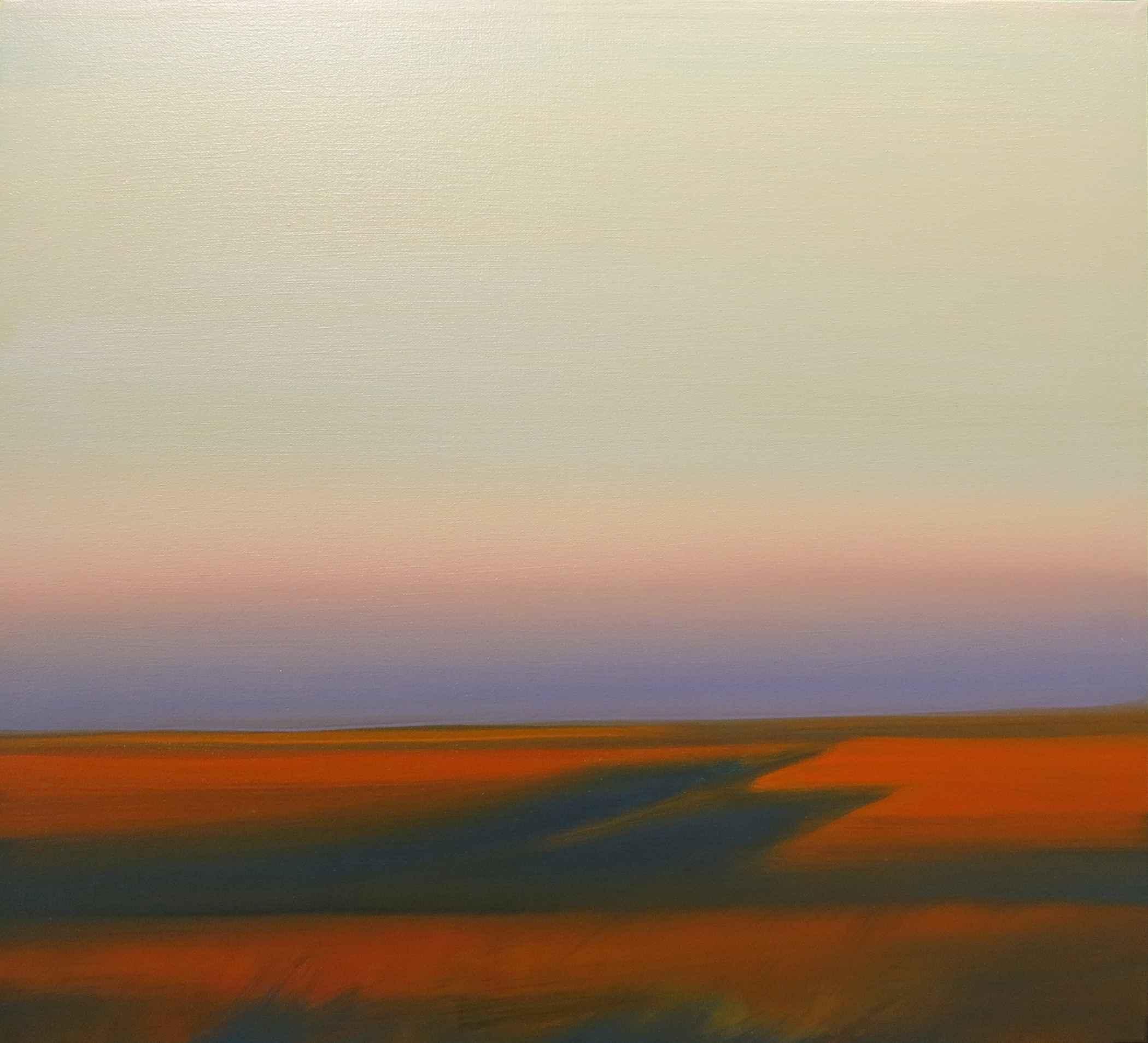 Orange Hills and Eart... by  Lisa Grossman - Masterpiece Online
