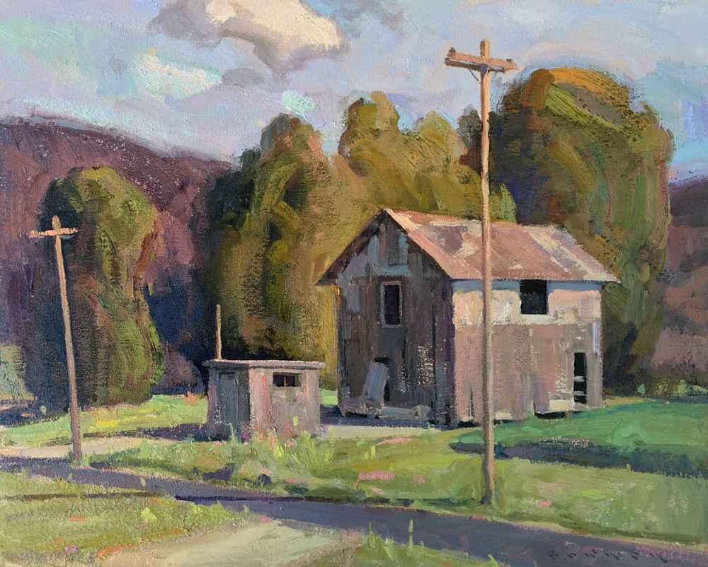Pump House  by  Eric Bowman