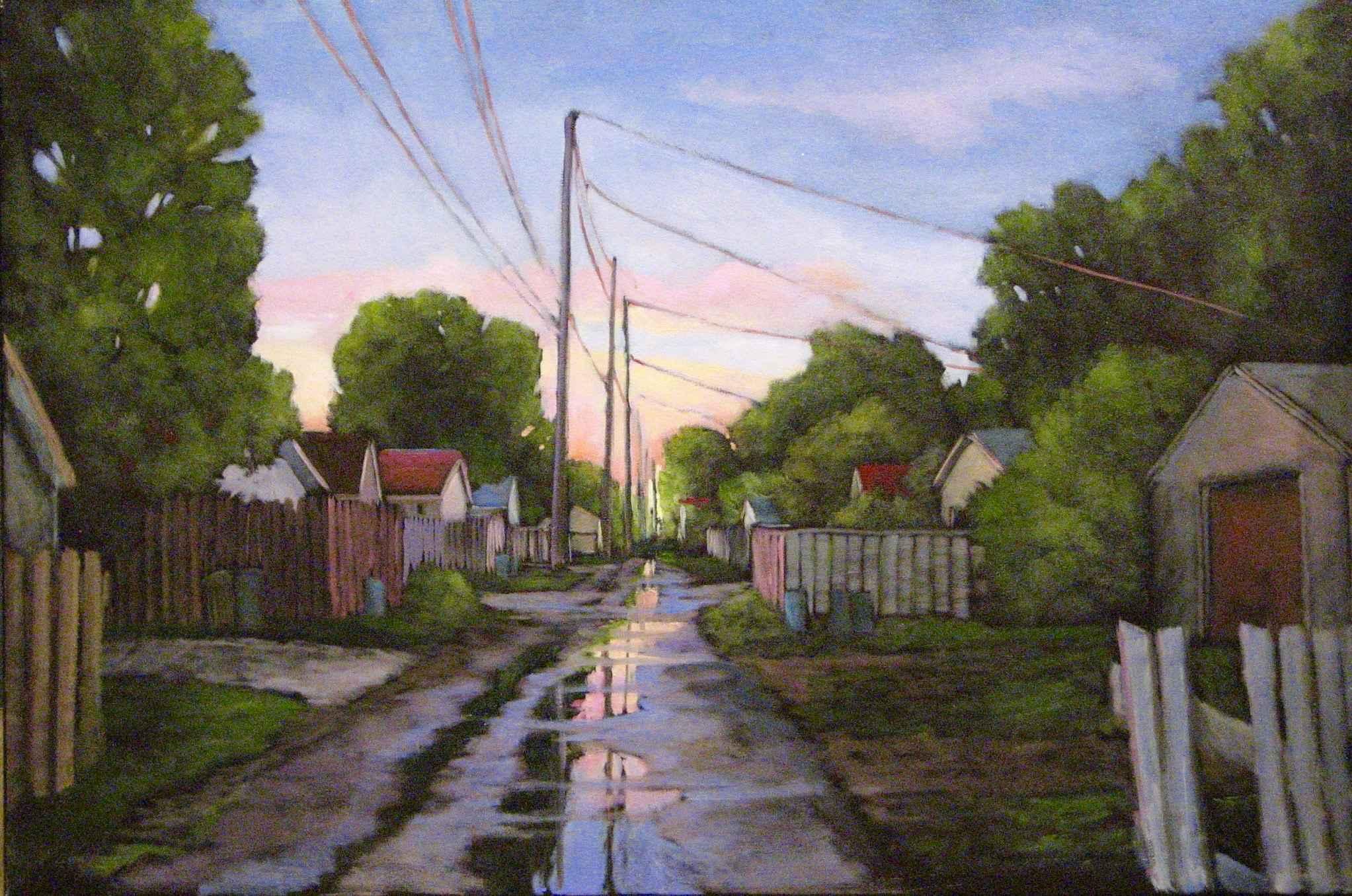 My Alley in Sunset by  Kari Duke - Masterpiece Online