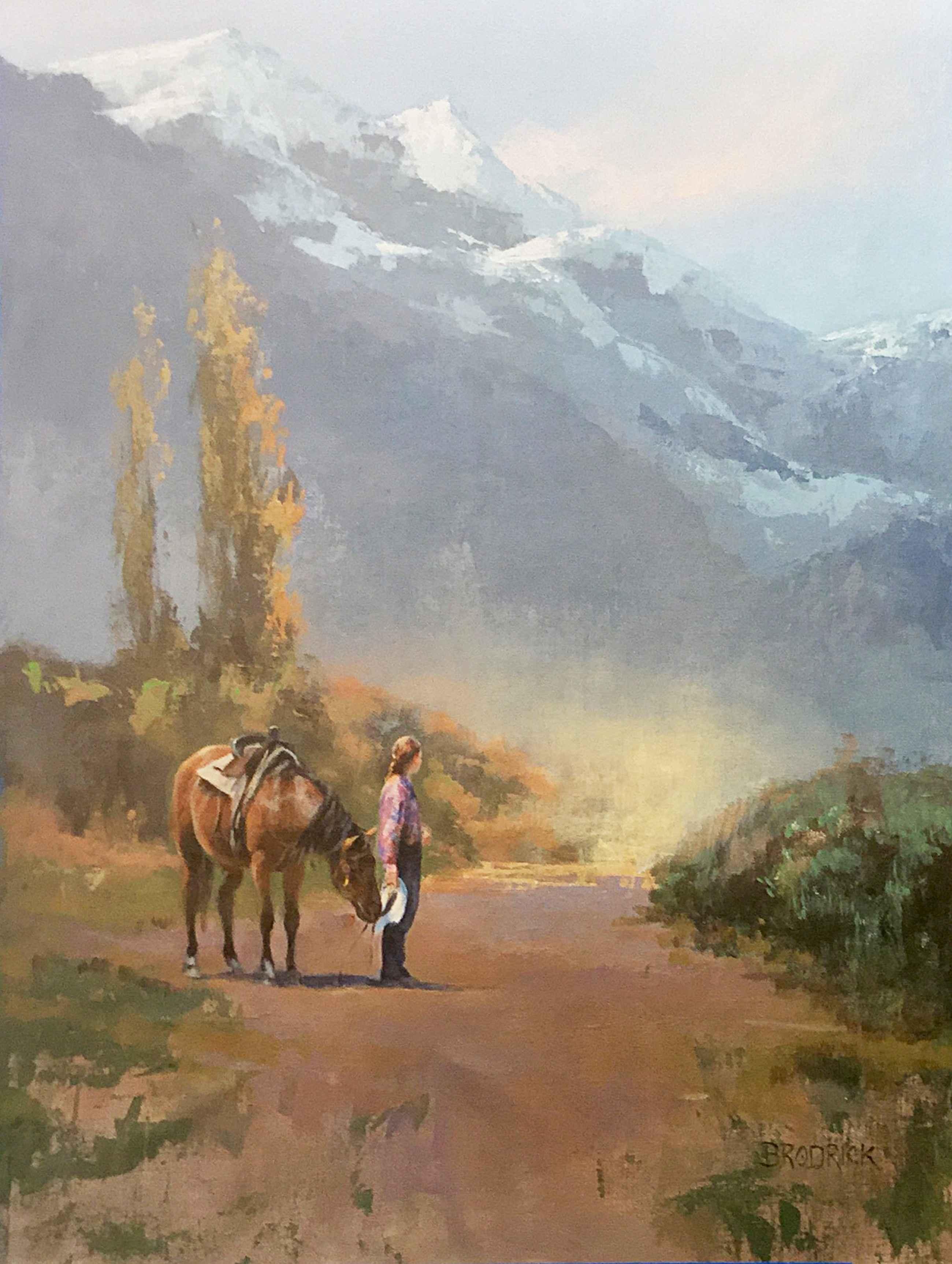 Waiting For Jenny by  JM Brodrick - Masterpiece Online
