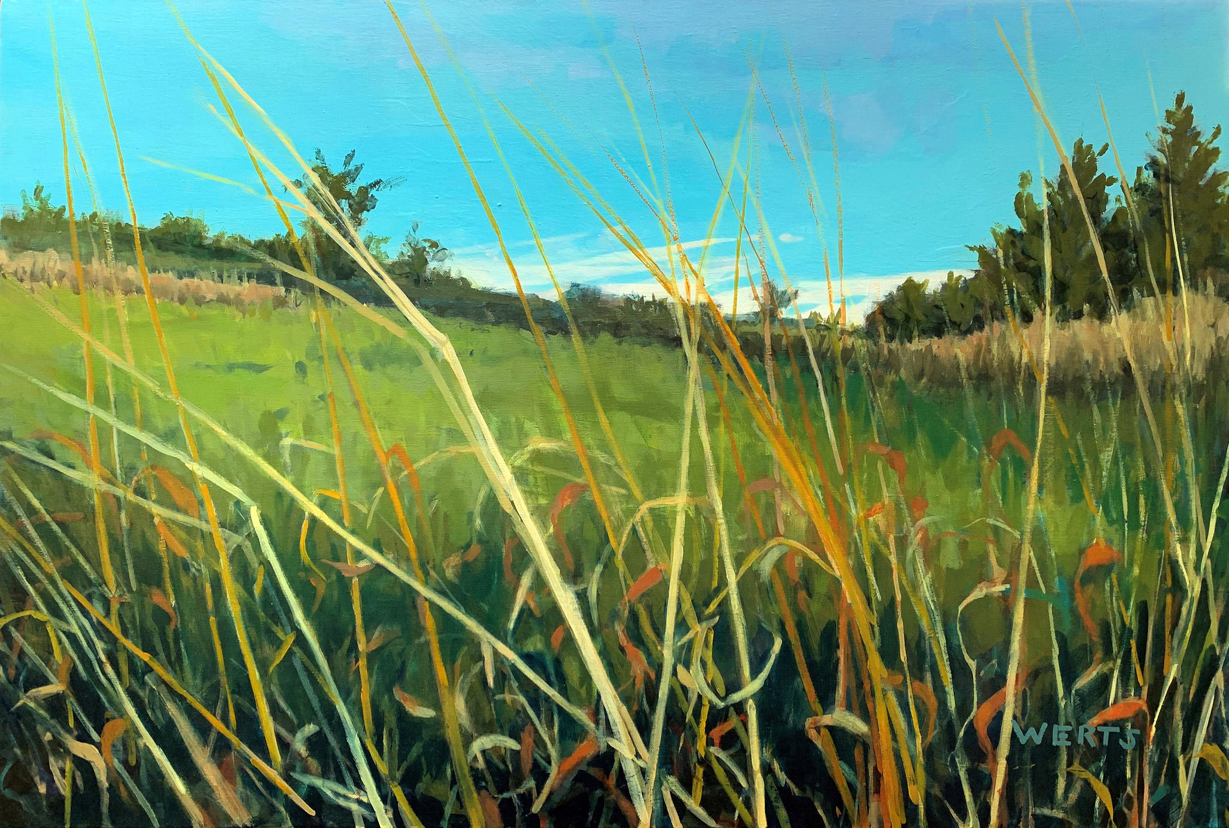 Grass Dance #2 by  Diana Werts - Masterpiece Online