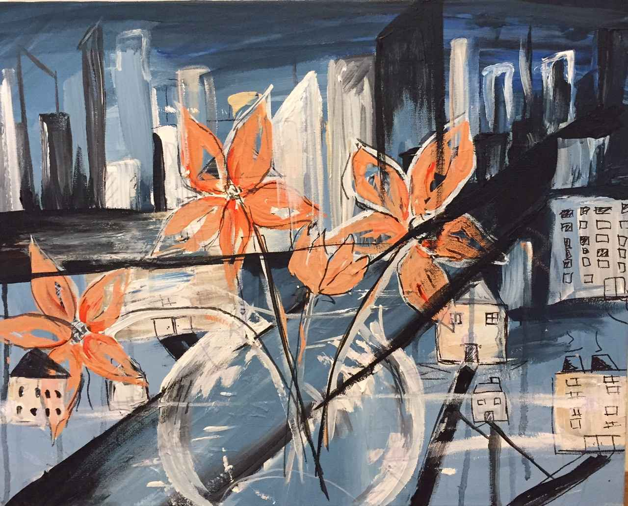 City Reflections by  Boston Logan - Masterpiece Online