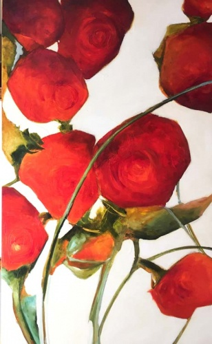 Cascading Scented Ros... by  Jacqueline Faye Miller - Masterpiece Online