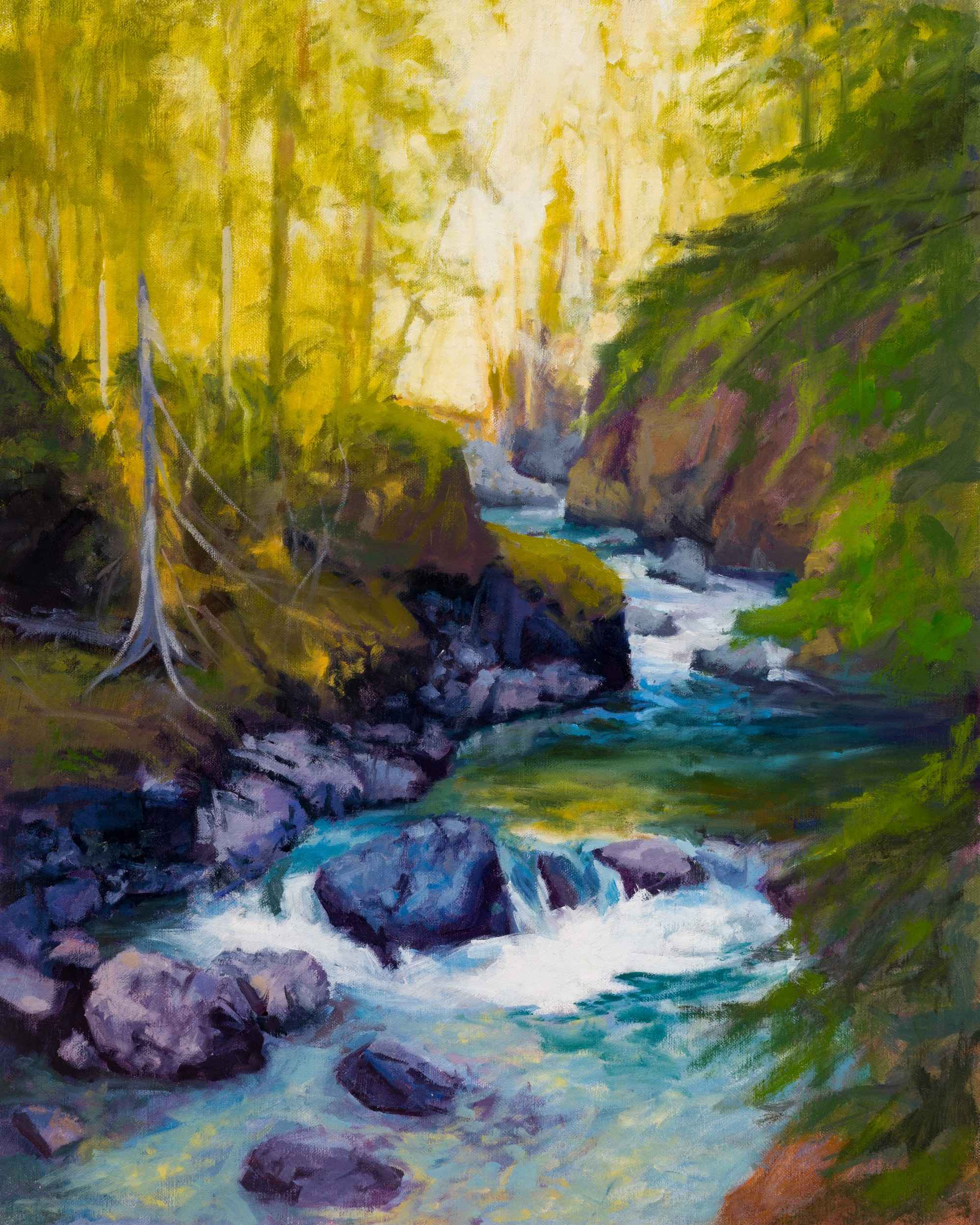 Around The Rocks by  Richard Smith - Masterpiece Online