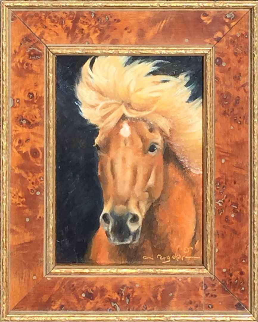 Wild Blonde by Ms. Cynthia Rigden - Masterpiece Online
