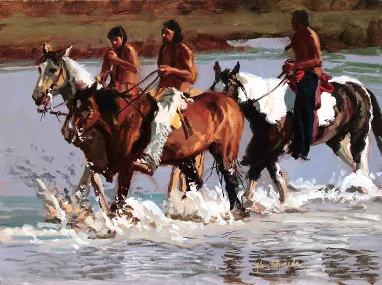 SOLD- River Trail by  Glen Edwards - Masterpiece Online