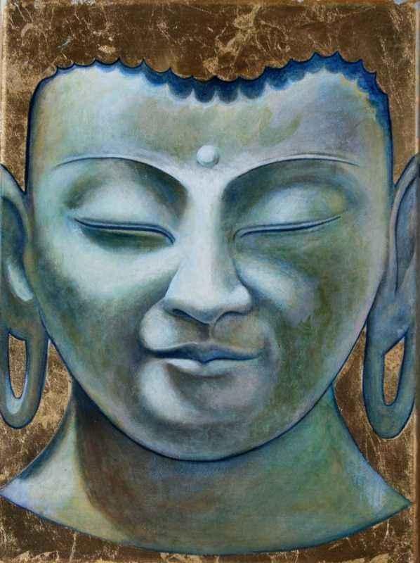 Buddha Study by  Matthew Smith - Masterpiece Online