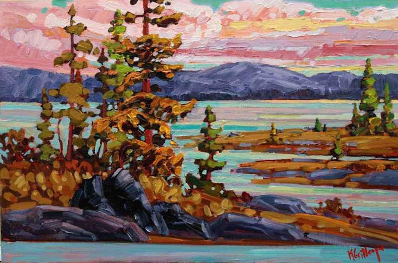 Moody Waters by  Ken Gillespie - Masterpiece Online