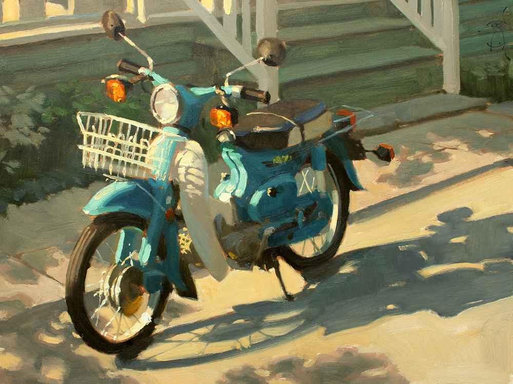 Scoot Scoot  by  Jennifer Diehl