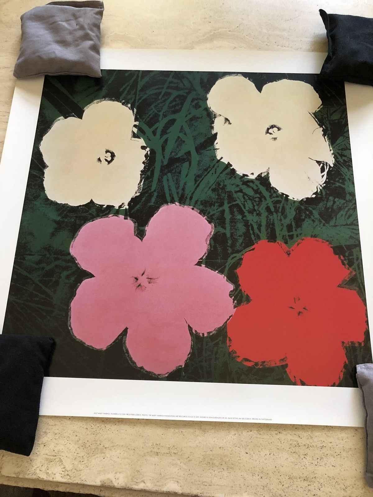 Flowers III by  Andy Warhol - Masterpiece Online