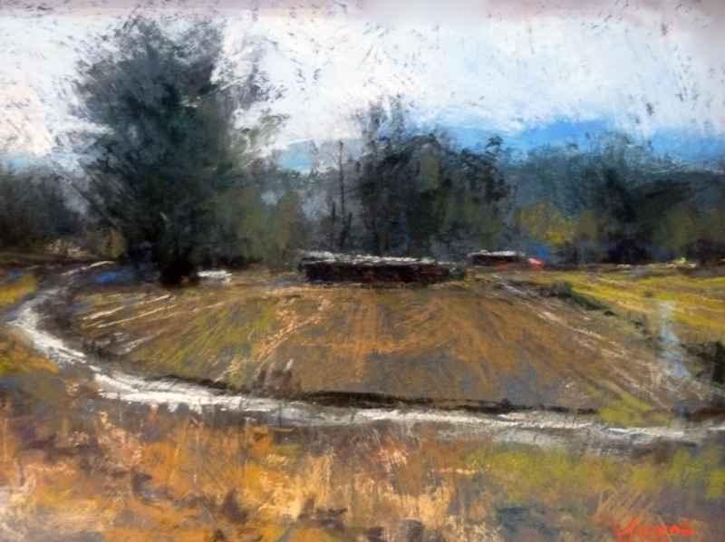 Hay Field, Luis Lopez by Ms. Margi Lucena - Masterpiece Online