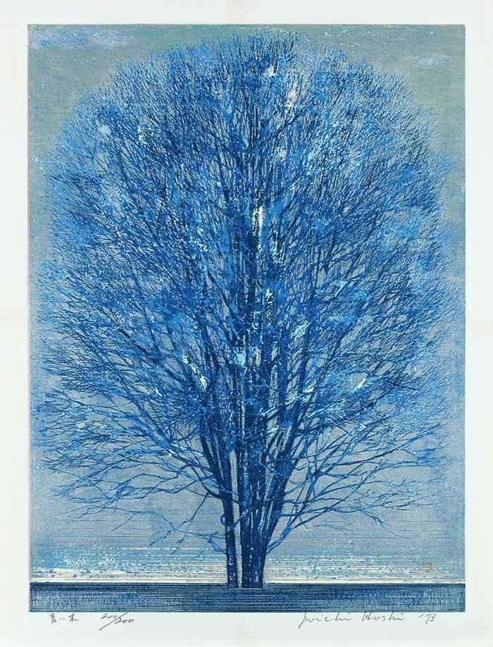 Blue Tree by  Joichi Hoshi - Masterpiece Online