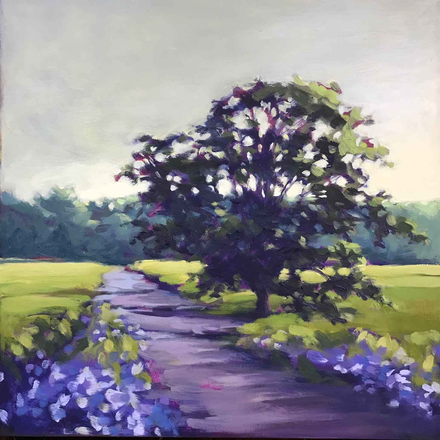 Study for Blue Cornfl... by  Margaret Gerding - Masterpiece Online