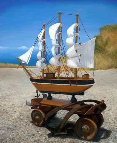 LANDLOCKED CHILDHOOD by MR. JOSH TALBOTT - Masterpiece Online