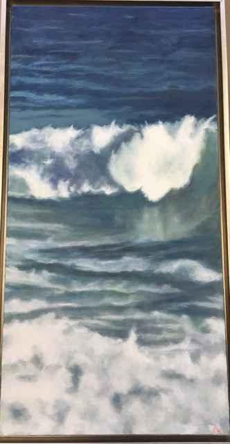 Ocean Wave represented by  by  Kathleen Weinstock