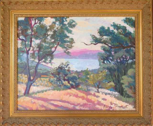 Vue Sur le Lac View ... by Mr. Francois Brochet - Masterpiece Online