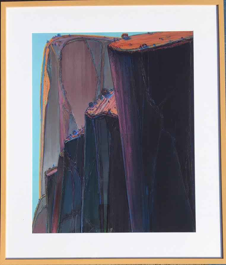 Canyon Mountains   (T...  by  Wayne Thiebaud