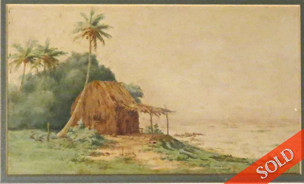 Beach Grass Shack by  Helen Whitney Kelley (1852-1910) - Masterpiece Online