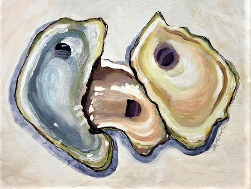 Apalachicola Half She... by  Barbara LaVecchia - Masterpiece Online