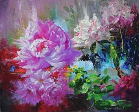 Wind Feelings by  Alexei Antonov - Masterpiece Online