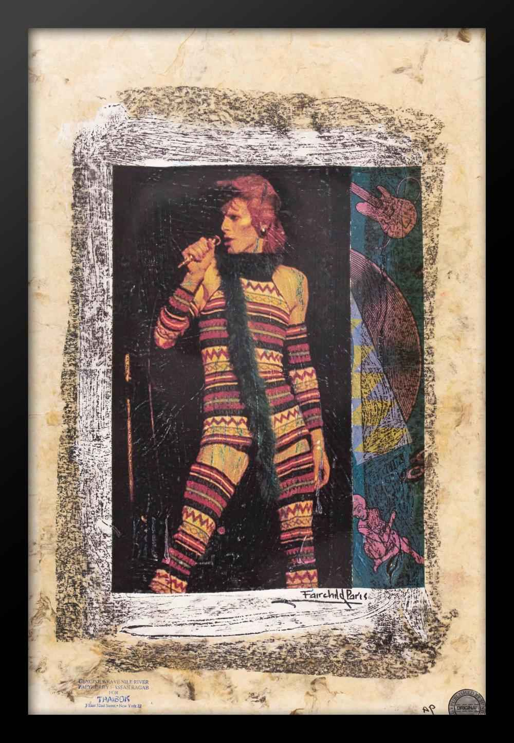 David Bowie as Ziggy ... by  Fairchild Paris - Masterpiece Online