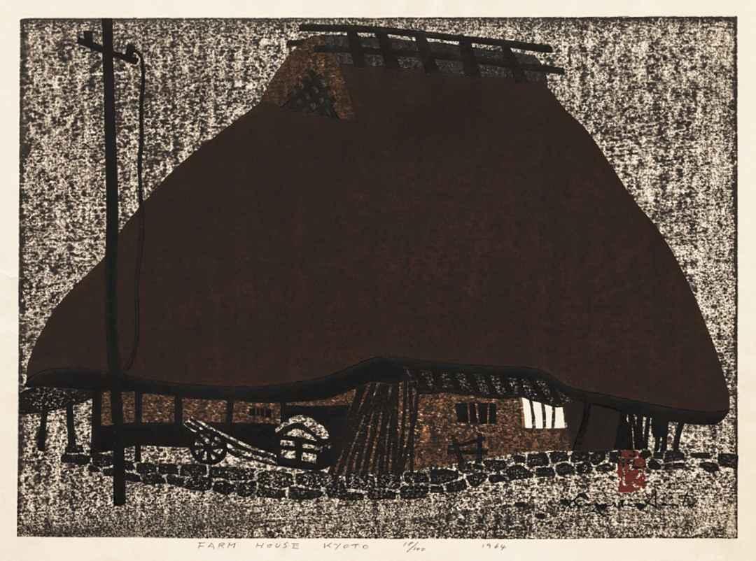 Farm House Kyoto by  Kiyoshi Saito - Masterpiece Online